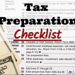 Sandra Tapia, CPA, PLLC's 2017 Tax Preparation Checklist